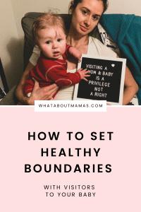 How to set healthy boundaries