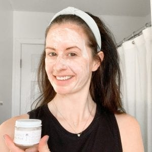 Pamper yourself with a face mask