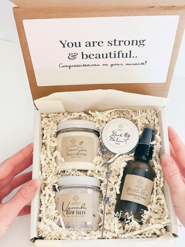 postpartum care package