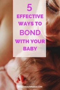 Having a baby? Here are some bonding tips