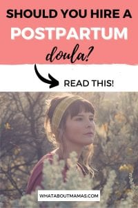 what does a postpartum doula do