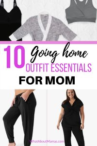 10 Postpartum Outfit Essentials For The Hospital And Home